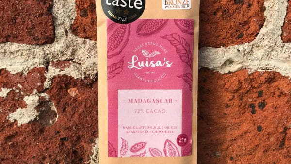 Luisa's Chocolates - 72% Madagascar