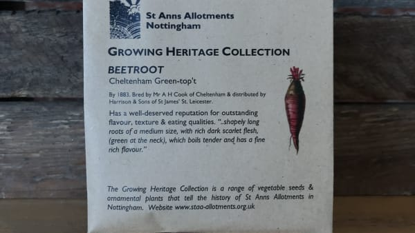 Heritage Seeds - Beetroot