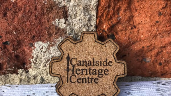 Canalside Cork Fridge Magnet