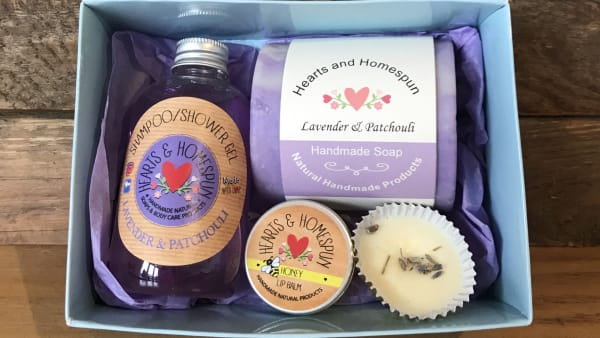 Hearts & Homespun - Pamper Gift Set - Lavender