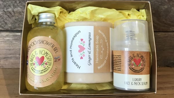 Hearts & Homespun - Pamper Gift Set - Grapefruit