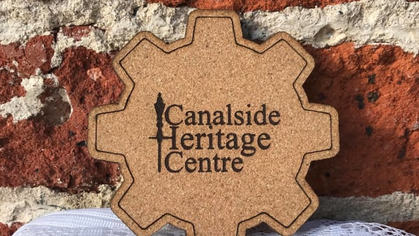Canalside Cork Coaster
