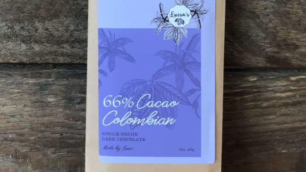 Luisa's Chocolates - 66% Colombian