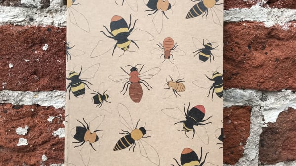 Kate Broughton - A5 Bee Notebook