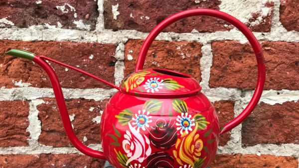Black Country Metal Works - Watering Can - Red