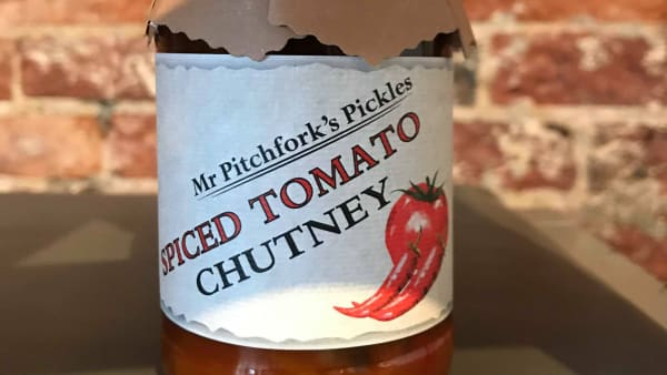 Mr Pitchfork's Pickles - Spiced Tomato Chutney