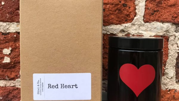 Ethel & Co - Candle 180ml - Red Heart