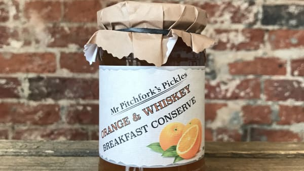 Mr Pitchfork's - Orange & Whisky Conserve